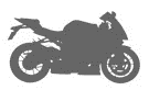 Picture for category HANDLEBAR MIRROR ADAPTERS- SPORTSBIKES( WITH FAIRINGS)