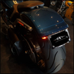 Picture of Harley Davidson Fatboy - 2018- Bikecraft Fender Eliminator / tail tidy with integrated stop/tail lights