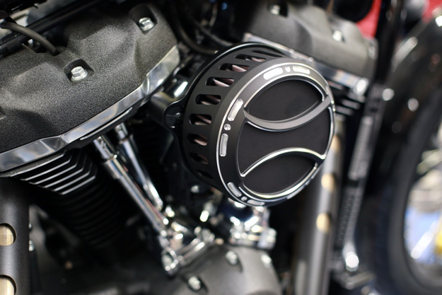 """Picture of POWERFILTER BICOLOR-CUT """"TORQUE"""" M8 HARLEY"""