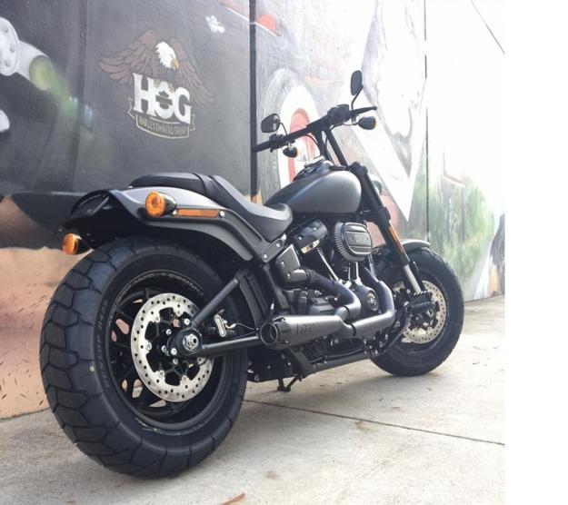 Picture of 2018 Harley Davidson Fat Bob - Bikecraft Fender Eliminator / Tail Tidy