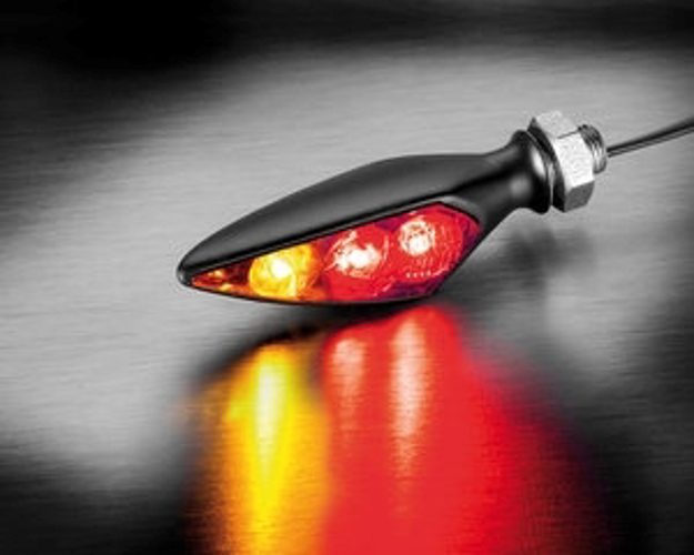 Picture of Kellermann Rhombus S DF Dark indicator and brake light universal - right hand