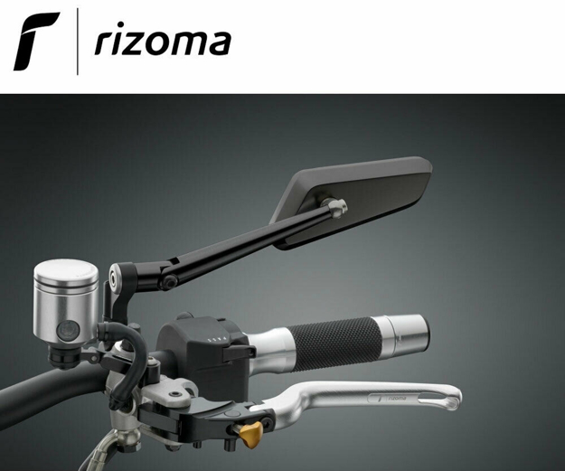 Picture of Rizoma Universal LEFT HAND black rearview mirror CIRCUIT BS202B