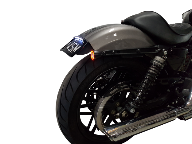 Picture of Harley Davidson Roadster Bikecraft Fender Eliminator to suit for  2016 Up with integrated stop/tail lights