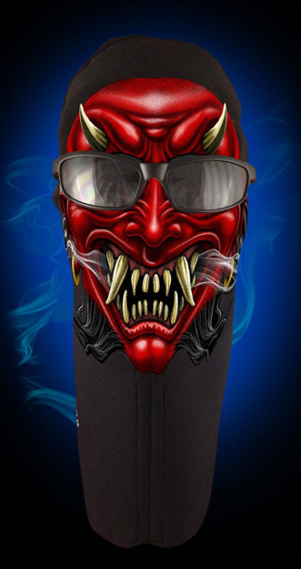 Picture of Wicked Wear Face Masks - Devil