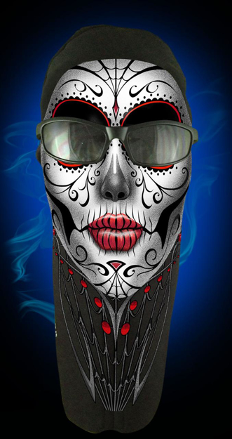 Picture of Wicked Wear Face Masks - Sugar Skull